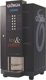 Georgia one of the leading and successful authorized distributor of Coca-Cola India Pvt. Ltd since 2005 deals in providing  durable and long lasting Tea & Coffee Vending Machine